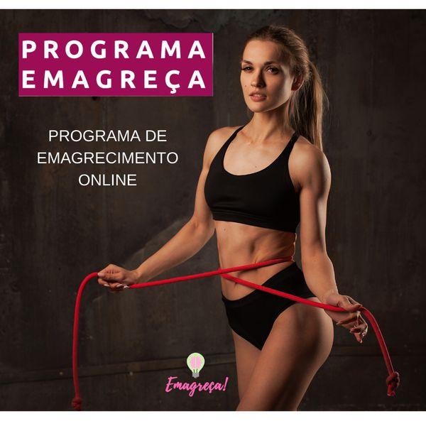 Imagem principal do produto Emagreça! Programa de Emagrecimento online
