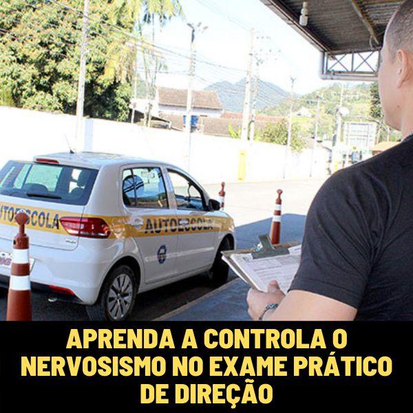 Imagem principal do produto Aprenda a Controlar o Nervosismo no Exame Prático de Direção