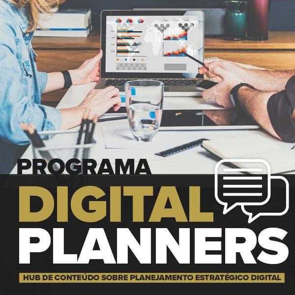 Imagem principal do produto Programa Digital Planners - Capacitação em Planejamento de Marketing Digital