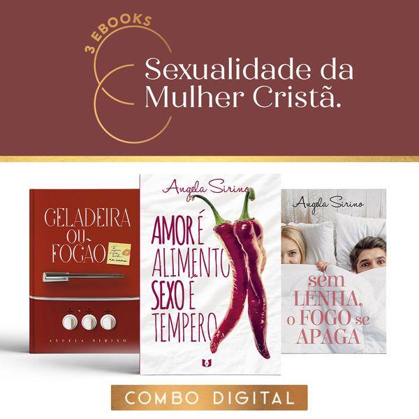 Imagem principal do produto 3 Livros Digitais - Sexualidade da Mulher Cristã