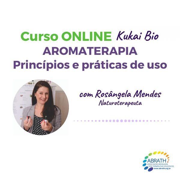 Imagem principal do produto Curso Aromaterapia Princípios e Práticas de Uso