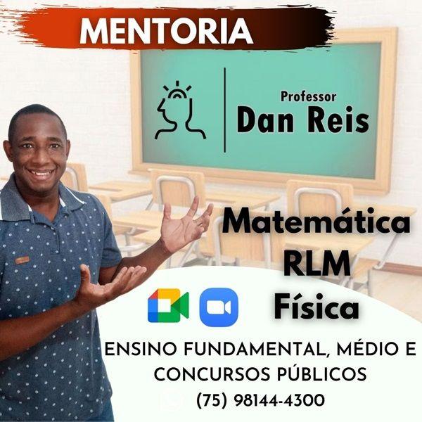 Imagem principal do produto Mentoria -  Matemática, Raciocínio Lógico e Física.