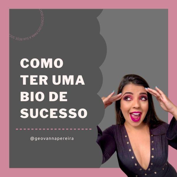 Imagem principal do produto COMO TER UMA BIO DE SUCESSO