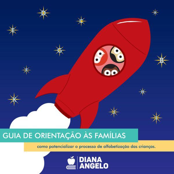Imagem principal do produto Guia de orientação às famílias: como potencializar o processo de alfabetização das crianças.
