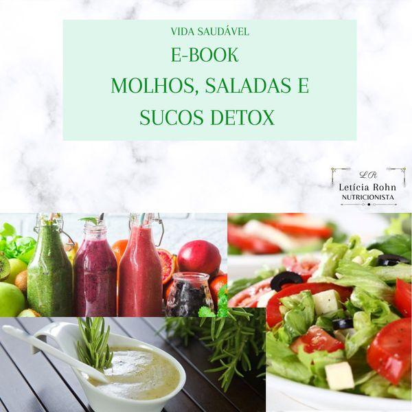 Imagem principal do produto E-book molhos, saladas e sucos detox