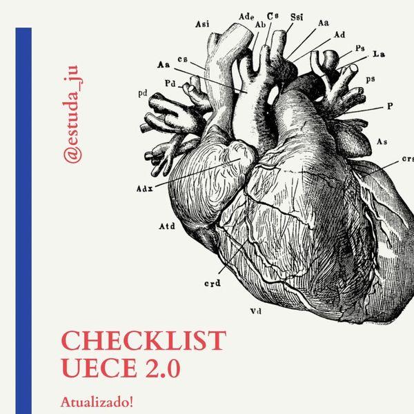 Imagem principal do produto CHECKLIST UECE 2021 @estuda_ju
