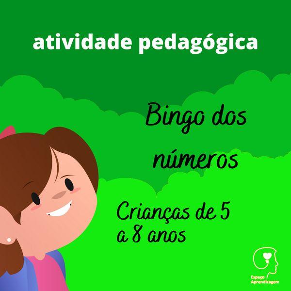 Imagem principal do produto Bingo dos números - Bingo dos números 1 - 25