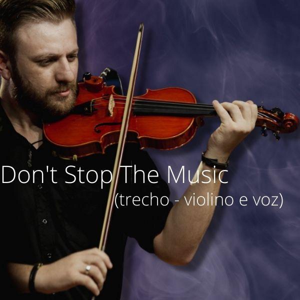 Imagem principal do produto Don't Stop The Music - Rihanna (Iza & Kairo)
