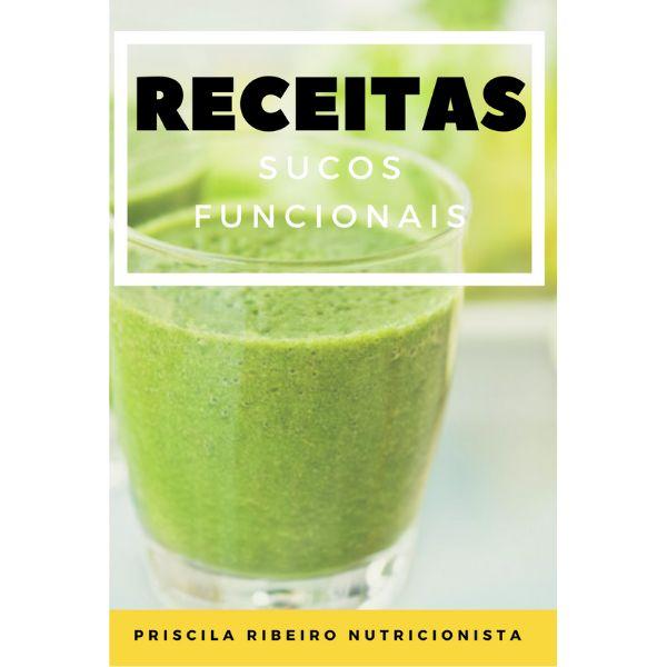 Imagem principal do produto E-BOOK DE SUCOS FUNCIONAIS