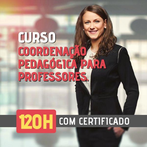 Imagem principal do produto CURSO COORDENAÇÃO PEDAGÓGICA PARA PROFESSORES