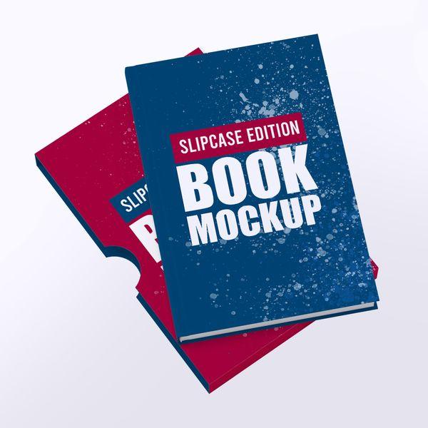 Imagem principal do produto Capa e-Book Magnético - Book Cover Mockup #6 - PSD 100% Editável