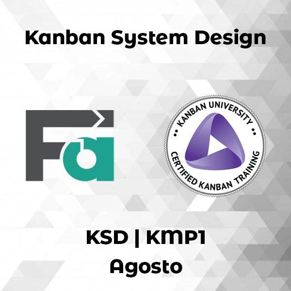 Imagem principal do produto KSD - Kanban System Design (KMP1) [Agosto]