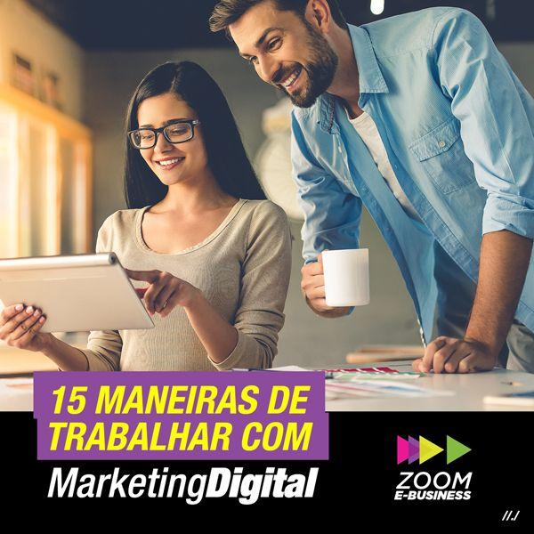Imagem principal do produto 15 Maneiras de Trabalhar com Marketing Digital.