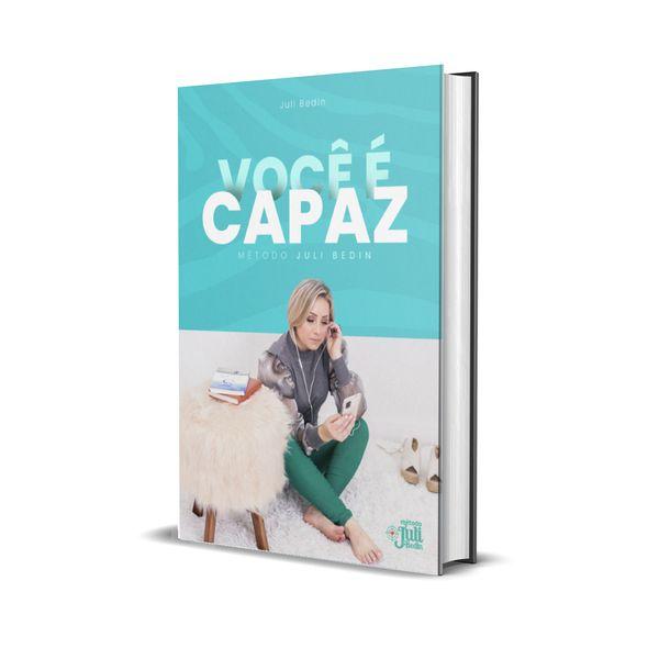 Imagem principal do produto eBook - Você é CAPAZ de EMAGRACER e se manter MAGRA por Juli Bedin