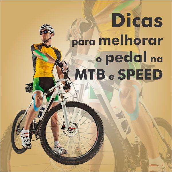 Imagem principal do produto Dicas para melhor o pedal na MTB e SPEED