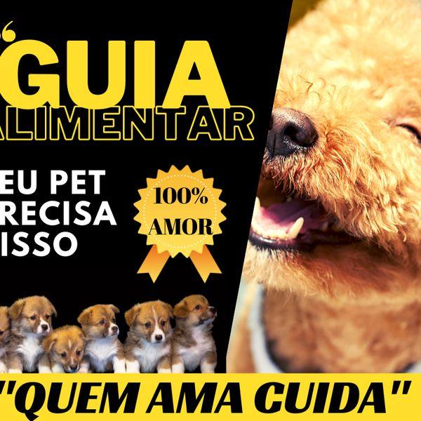 Imagem principal do produto GUIA ALIMENTAR PARA CÃES
