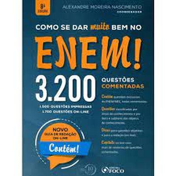 Imagem principal do produto Como se dar Bem no ENEM 1700 questões comentadas