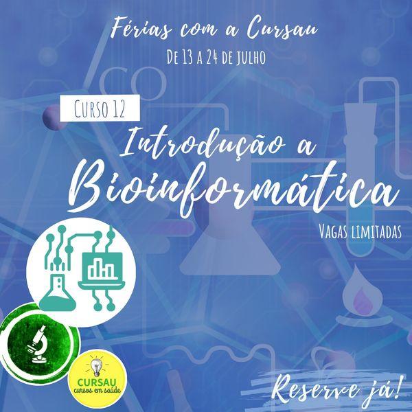 Imagem principal do produto Curso de Férias: Introdução a Bioinformática