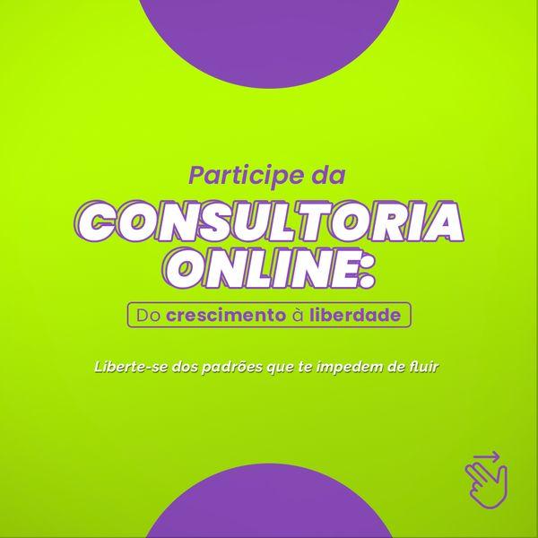Imagem principal do produto Consultoria online: Do crescimento à liberdade