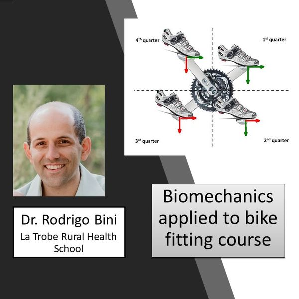 Imagem principal do produto Biomechanics of cycling applied to bike fit