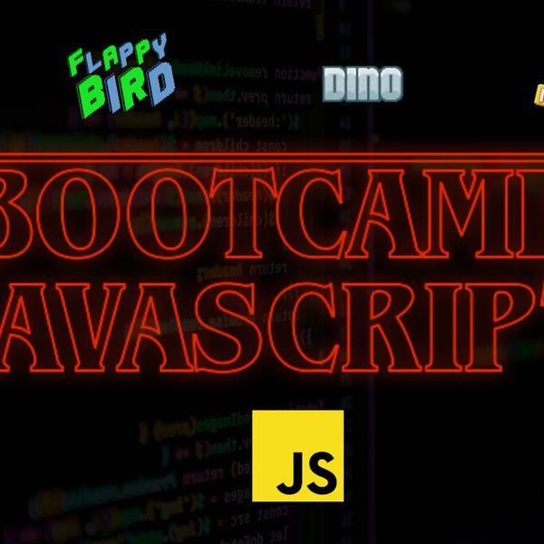 Imagem principal do produto Bootcamp Javascript   Aprenda a programas em 2 semanas