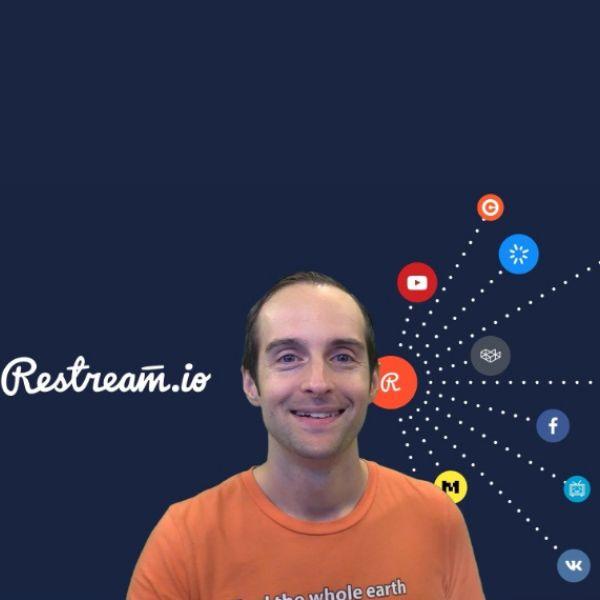 Imagem principal do produto Go Live Everywhere with Restream!