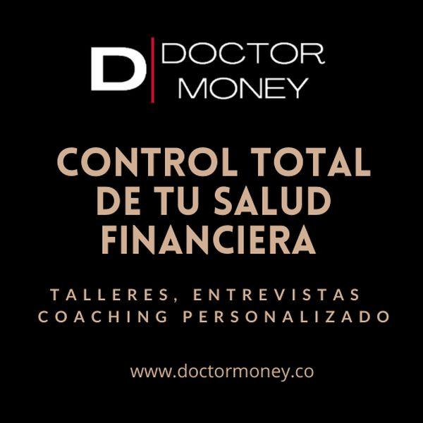 Imagem principal do produto CONTROL TOTAL DE TU SALUD FINANCIERA- Talleres, entrevistas y coaching personalizado.