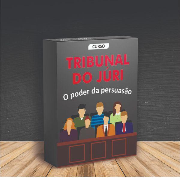 Imagem principal do produto curso TRIBUNAL DO JÚRI / O PODER DA PERSUASÃO