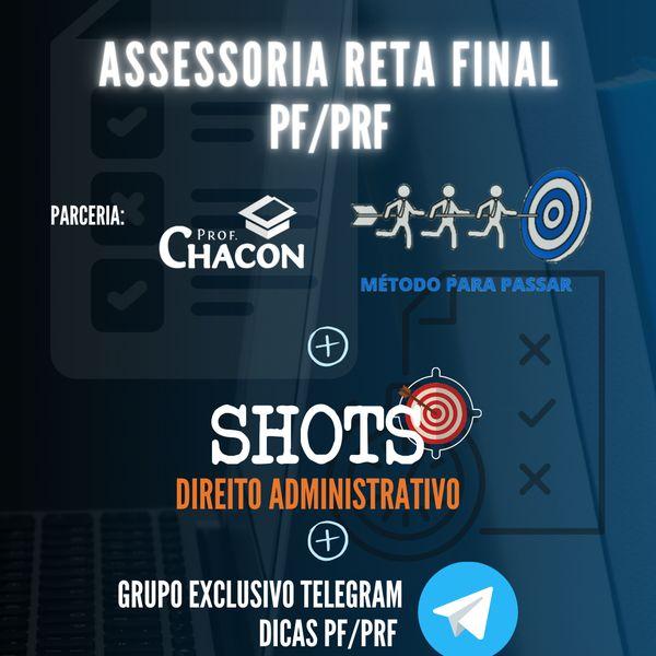 Imagem principal do produto ASSESSORIA RETA FINAL PRF + SHOTS DIADM