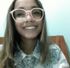 Bruna Araújo Silva  - Aluna da Planecel