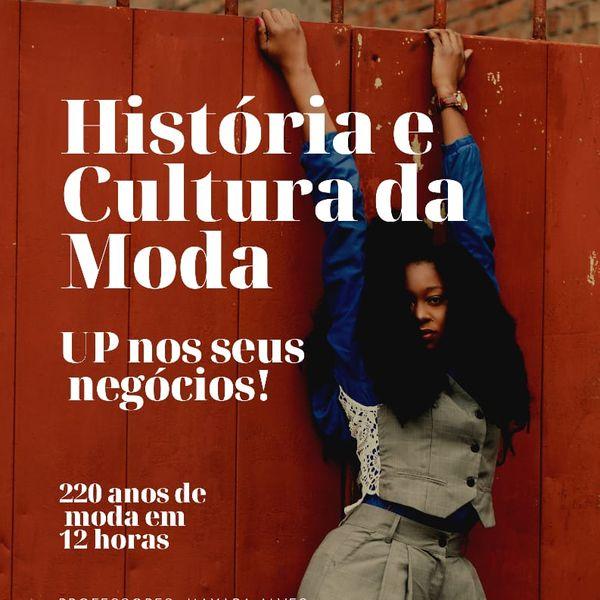 Imagem principal do produto História e Cultura da Moda - Up nos seus negócios!