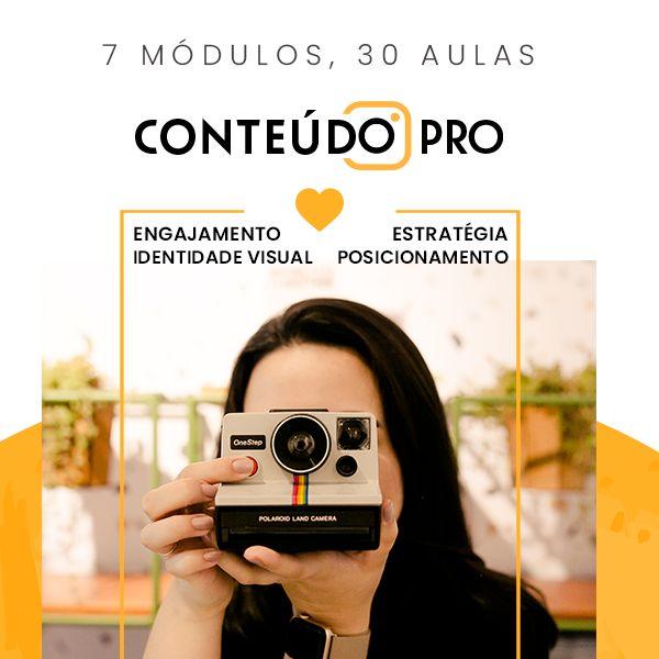 Imagem principal do produto Conteúdo PRO
