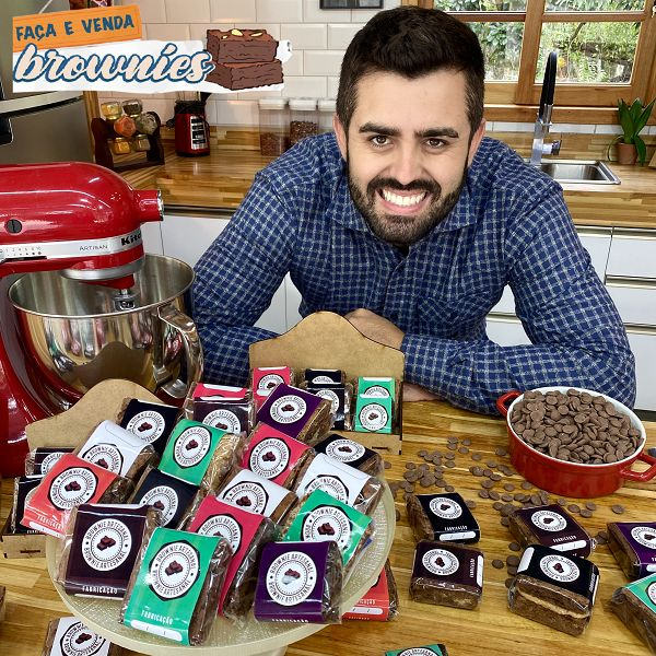 Imagem principal do produto Faça e Venda: Brownies com Receitas de Pai