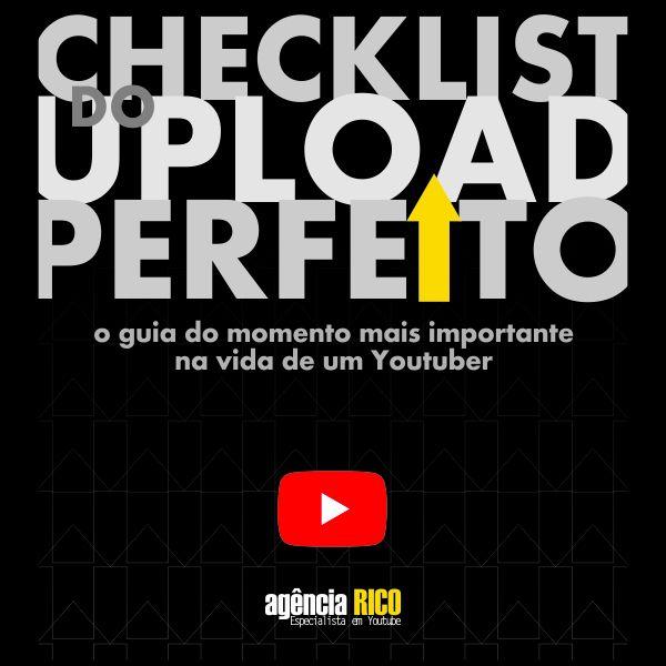 Imagem principal do produto Checklist do Upload Perfeito - Para Youtubers