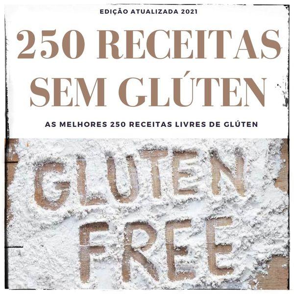 Imagem principal do produto 250 Receitas SEM GLÚTEN