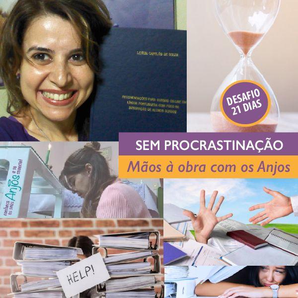 Imagem principal do produto Desafio 21 dias: Sem procrastinação - Mãos à obra com os Anjos