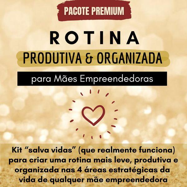 Imagem principal do produto Rotina Produtiva & Organizada