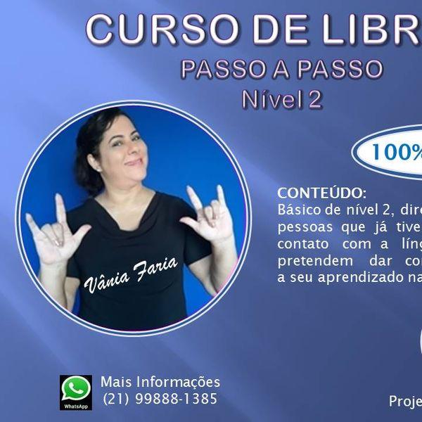 Imagem principal do produto Curso de Libras - PASSO A PASSO (NÍVEL 2)
