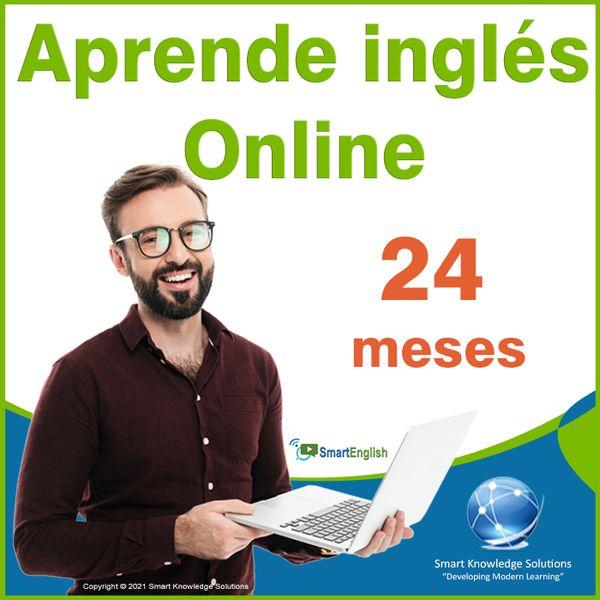 Imagem principal do produto Curso de inglés online programa completo autoestudio – Suscripción 24 meses incluye libro y certificado