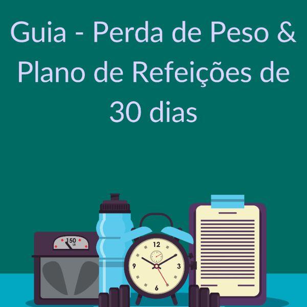 Imagem principal do produto Guia - Perda de Peso & Plano de Refeições de 30 Dias