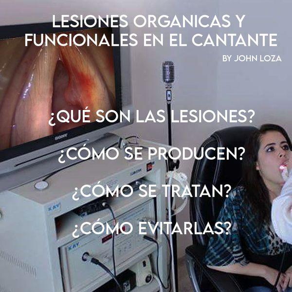 Imagem principal do produto LESIONES ORGANICAS Y FUNCIONALES EN EL CANTANTE
