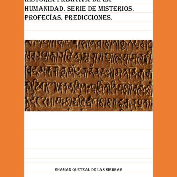 Imagem principal do produto HISTORIA PRIMITIVA DE LA HUMANIDAD
