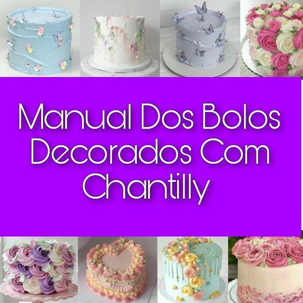 Imagem principal do produto Manual Dos Bolos Decorados Com Chantilly