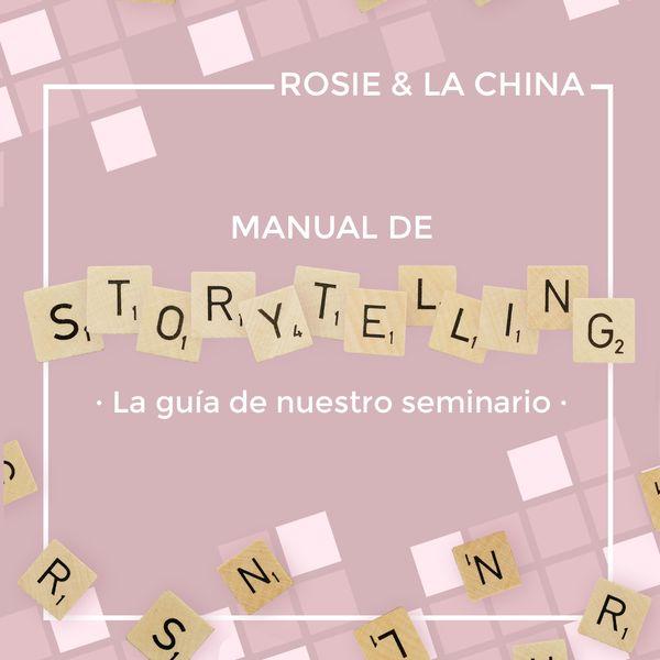 Imagem principal do produto Manual de Storytelling