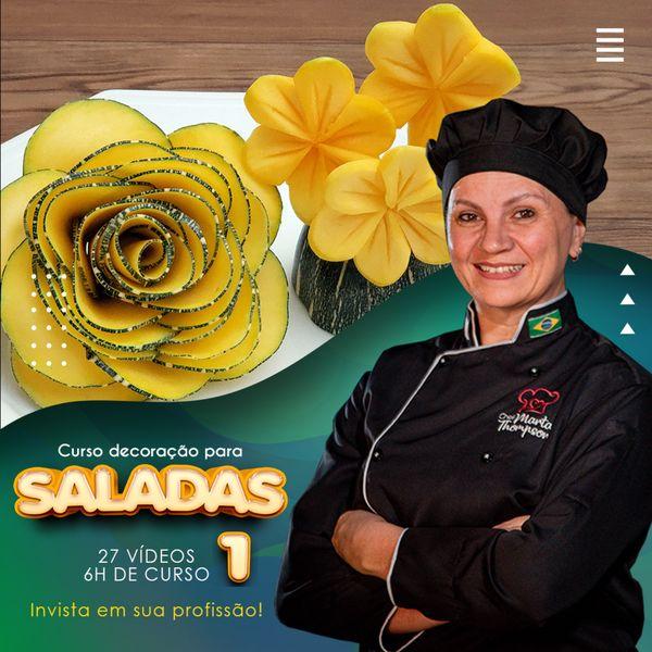 Imagem principal do produto CURSO DECORAÇÃO PARA SALADAS 1