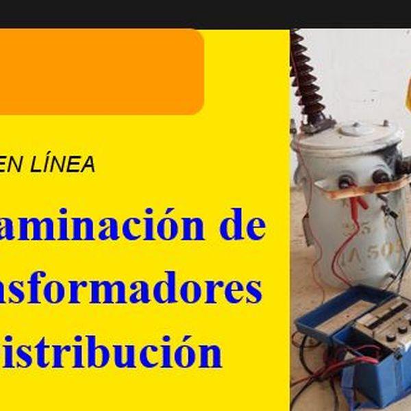 Imagem principal do produto Dictaminación de transformadores de distribución