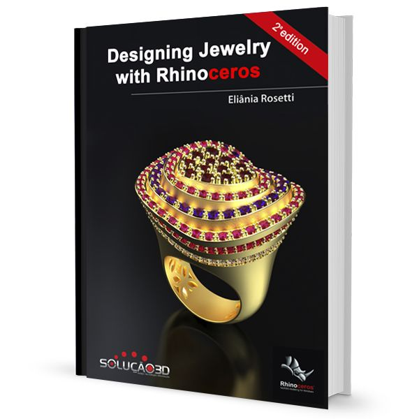 Imagem principal do produto Ebook Designing Jewelry with Rhinoceros