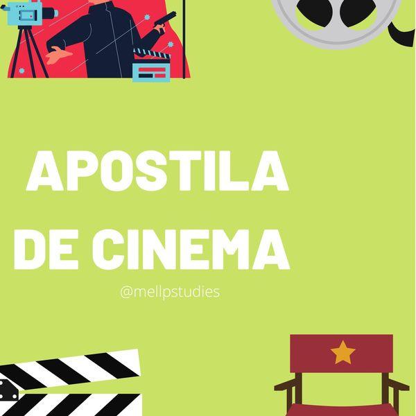 Imagem principal do produto Apostila de Cinema