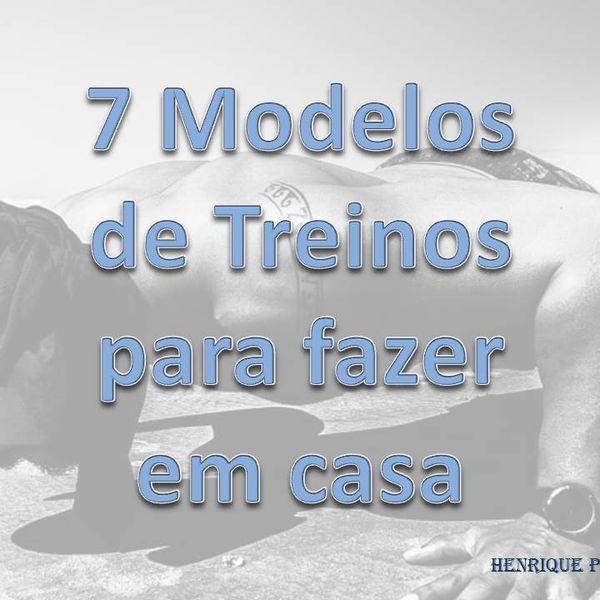 Imagem principal do produto 7 Modelos de treinos para fazer em casa