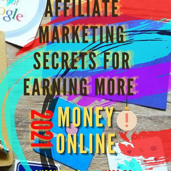 Imagem principal do produto AFFILIATE MARKETING SECRETS FOR EARNING MONEY ONLINE 2021